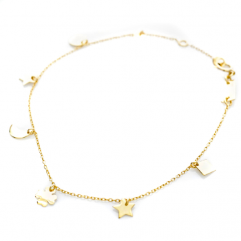 Bracelet 7 motifs Or jaune ou Or blanc