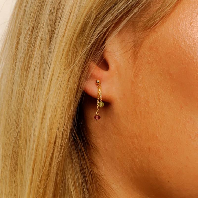 Boucles d'oreilles 2 or