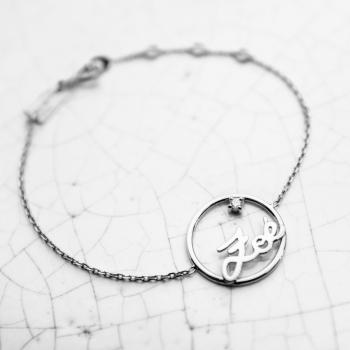 Prénoms personnalisés Bracelet chaîne de 189€ à 219€
