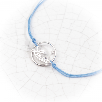 Prénoms personnalisés Bracelet cordon de 169€ à 199€