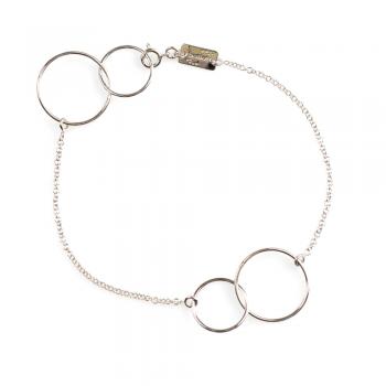 Bracelet  cerles en fil d'Or petit modèle  Or jaune ou Or blanc