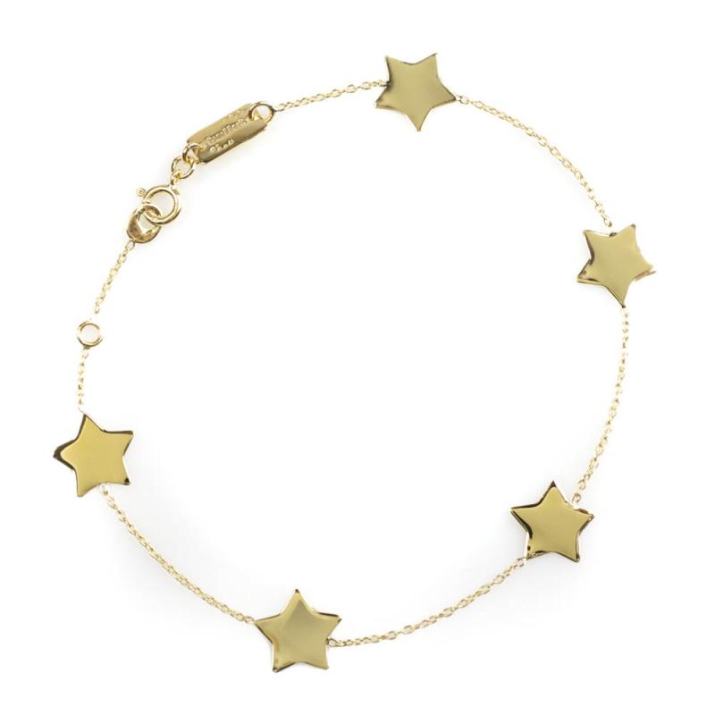 Bijou femme bracelet 5 étoiles